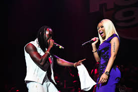 mavado calls out  nicki-minaj and dj khaled stage